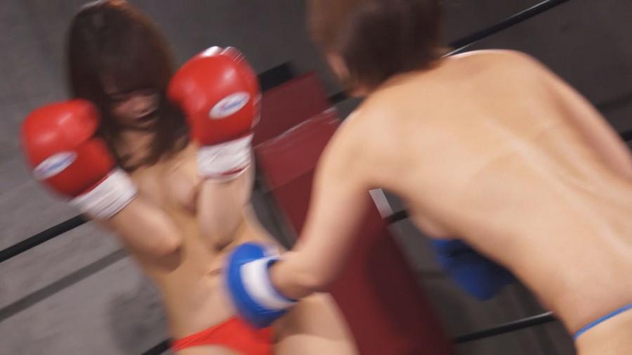 【HD】トップレスドミネーションボクシング 1 サンプル画像04
