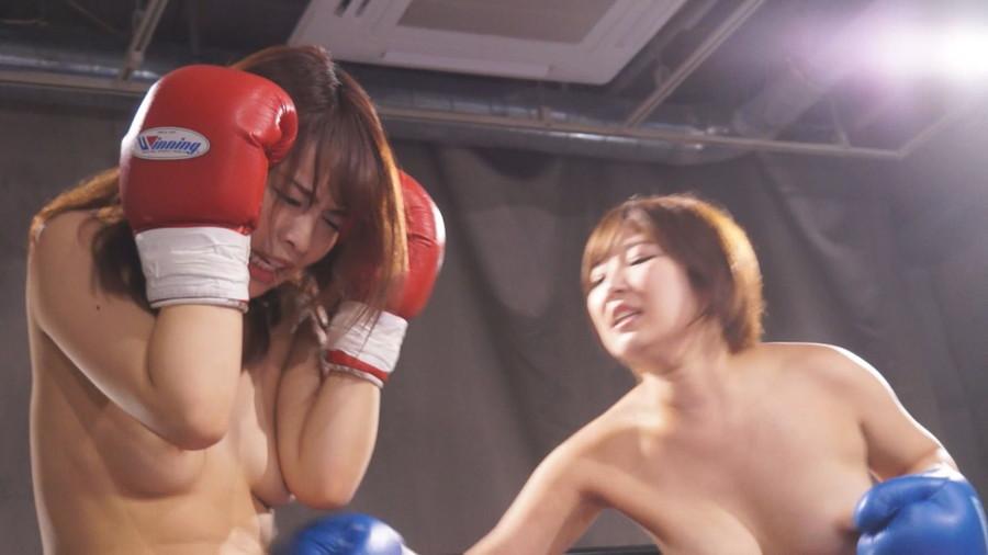 【HD】トップレスドミネーションボクシング 1 サンプル画像06