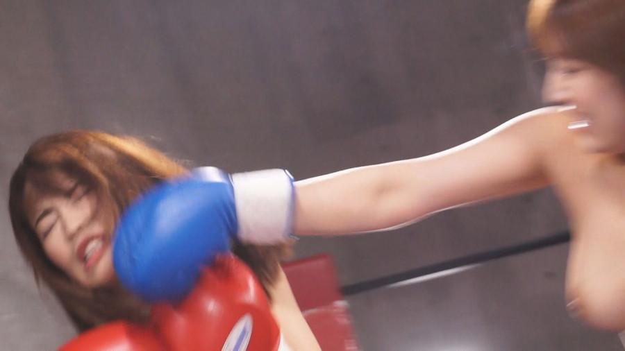 【HD】トップレスドミネーションボクシング 1 サンプル画像09