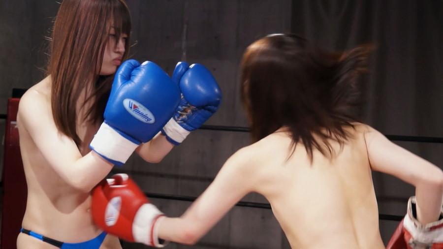 【HD】トップレスドミネーションボクシング 7【プレミアム会員限定】 サンプル画像03