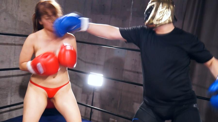 【HD】三好凪のトップレスMIXボクシング?トップレス女子ファイタースーパー列伝?【プレミアム会員限定】 サンプル画像06