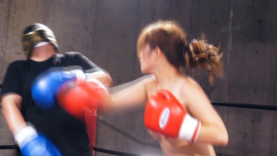 【HD】三好凪のトップレスMIXボクシング?トップレス女子ファイタースーパー列伝?【プレミアム会員限定】 サンプル画像07