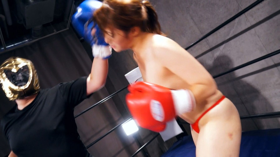 【HD】三好凪のトップレスMIXボクシング?トップレス女子ファイタースーパー列伝?【プレミアム会員限定】 サンプル画像10
