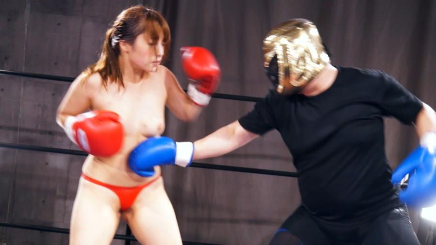 【HD】三好凪のトップレスMIXボクシング?トップレス女子ファイタースーパー列伝?【プレミアム会員限定】 サンプル画像11