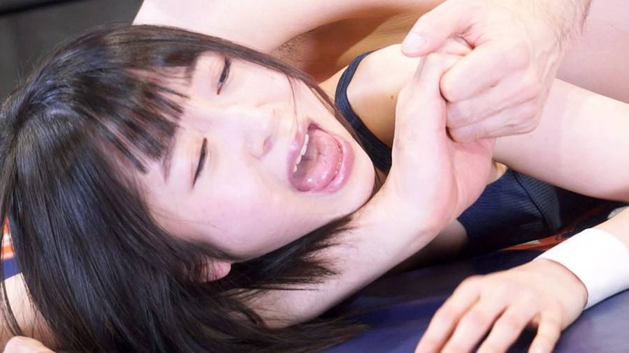 【HD】美女レスラーと接写戦! 人気ファイター 篠崎みお & まゆのゆま 登場! サンプル画像12
