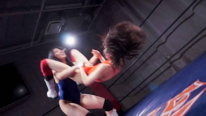 【HD】BWP NEXT01 開催記念スペシャルマッチ まゆのゆまvs川崎亜里沙 サンプル画像02