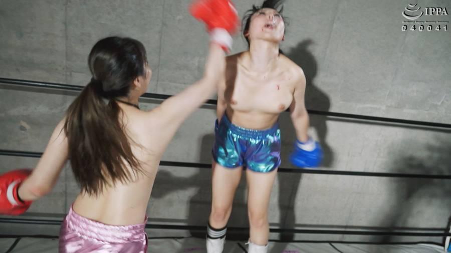 【HD】BWPボクシング04 開催記念スペシャルボクシングマッチ 豊中アリスvs横山夏希【プレミアム会員限定】 サンプル画像06