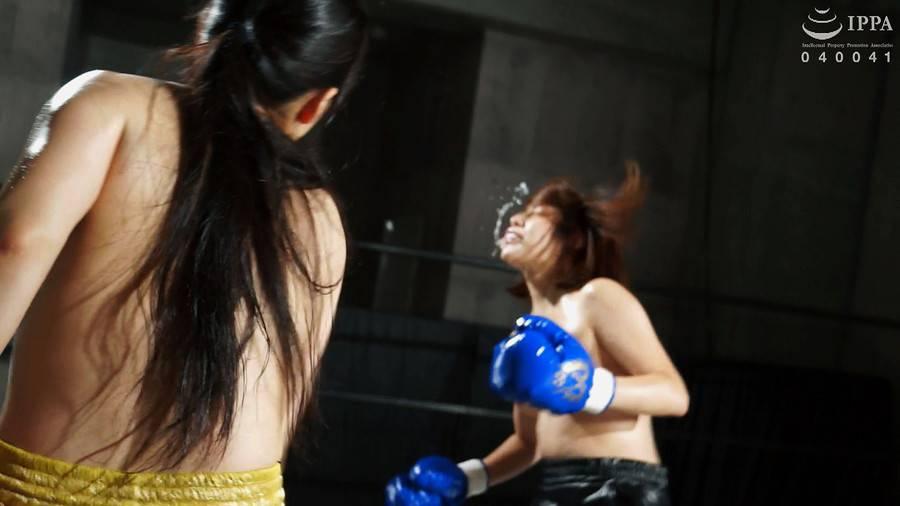 【HD】BWPボクシング04 開催記念スペシャルボクシングマッチ 岩沢香代 vs 永野つかさ【プレミアム会員限定】 サンプル画像01