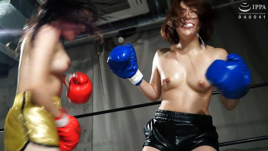 【HD】BWPボクシング04 開催記念スペシャルボクシングマッチ 岩沢香代 vs 永野つかさ【プレミアム会員限定】 サンプル画像02