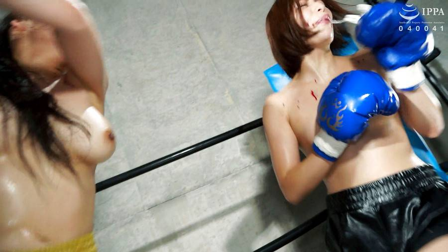 【HD】BWPボクシング04 開催記念スペシャルボクシングマッチ 岩沢香代 vs 永野つかさ【プレミアム会員限定】 サンプル画像04