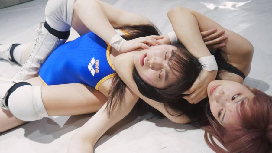 【HD】BWP NEXT04開催記念スペシャルMIX男女混合タッグマッチ YUE組vs川崎亜里沙組【プレミアム会員限定】 サンプル画像02