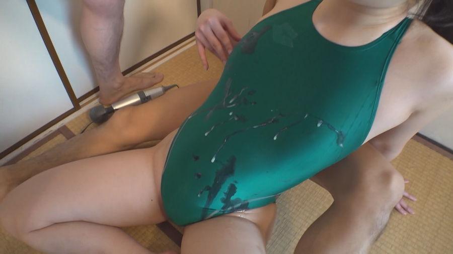 【HD】着射!競泳水着ぶっかけ サンプル画像05