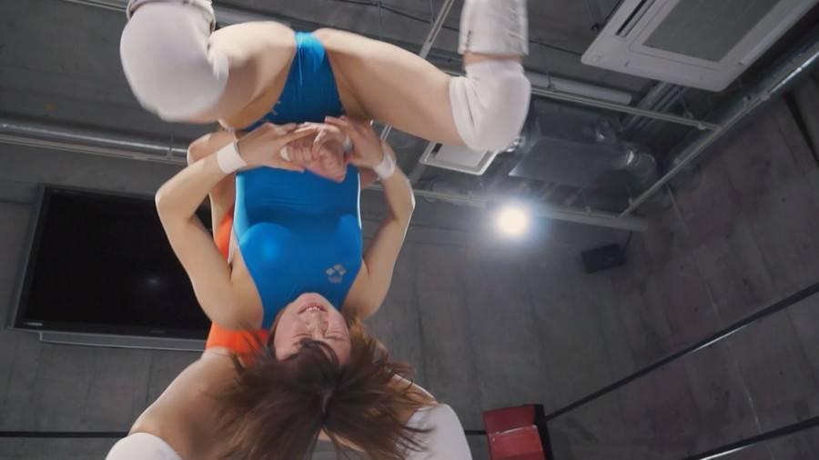 【HD】ファイティングガールズインターナショナル Woman's Pro-Wrestling  川原かなえvs堀沢ゆい サンプル画像11