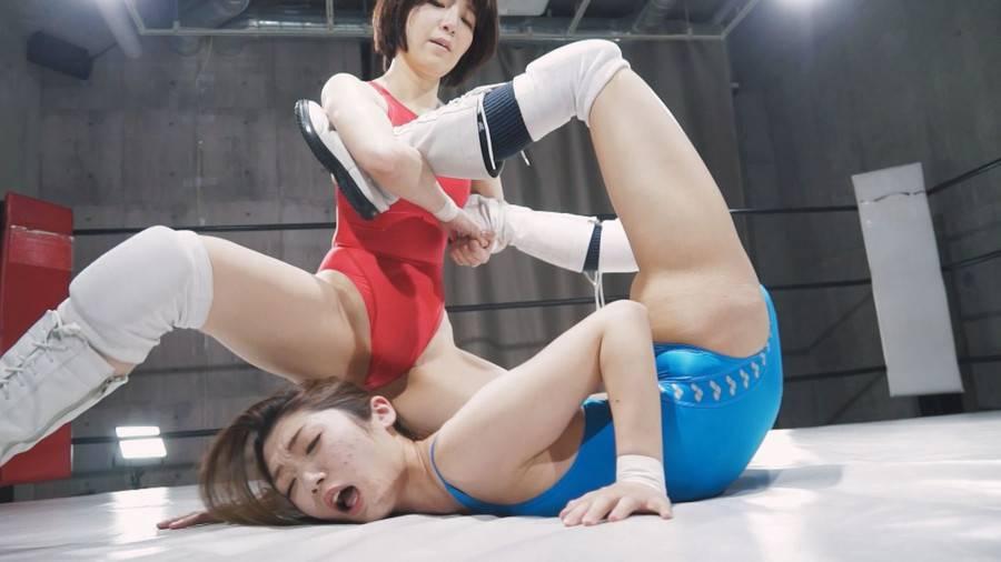 【HD】ファイティングガールズインターナショナル Woman's Pro-Wrestling  星乃華vs香苗レノン【プレミアム会員限定】 サンプル画像03