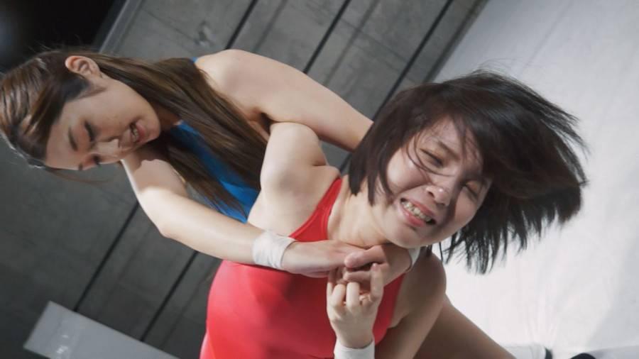 【HD】ファイティングガールズインターナショナル Woman's Pro-Wrestling  星乃華vs香苗レノン【プレミアム会員限定】 サンプル画像05