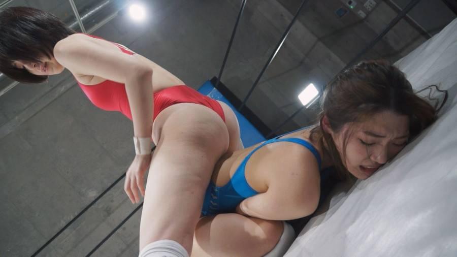 【HD】ファイティングガールズインターナショナル Woman's Pro-Wrestling  星乃華vs香苗レノン【プレミアム会員限定】 サンプル画像10
