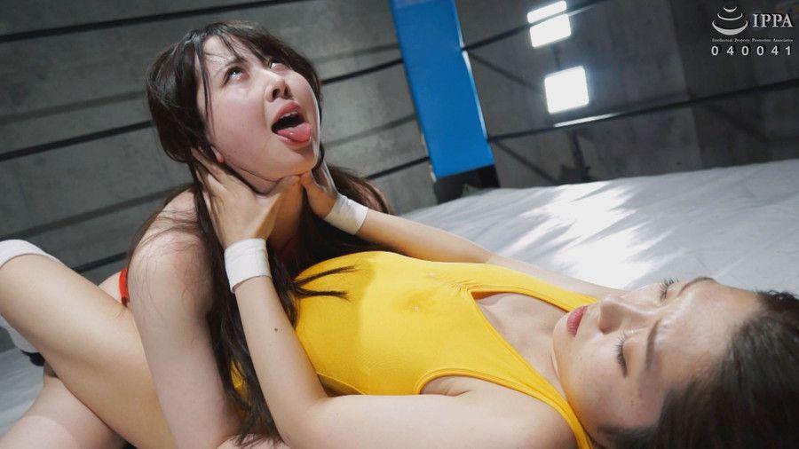 【HD】ファイティングガールズインターナショナル Woman's Pro-Wrestling 香苗レノン vs 高敷るあ【プレミアム会員限定】 サンプル画像05