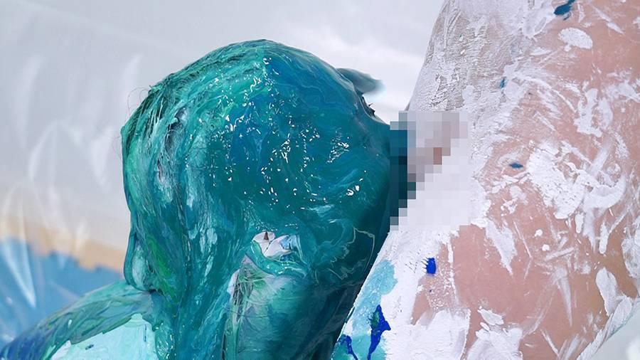 【HD】ひとりだけ絵の具まみれリターンズ 1 サンプル画像11