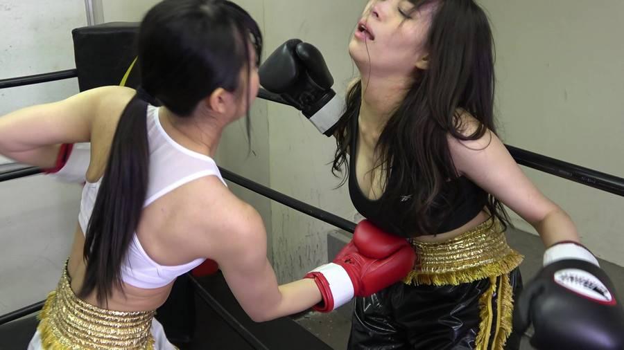 悶絶ボクシング001 真木今日子vs浅倉真凛 サンプル画像01