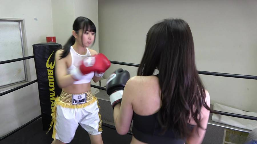 悶絶ボクシング001 真木今日子vs浅倉真凛 サンプル画像03