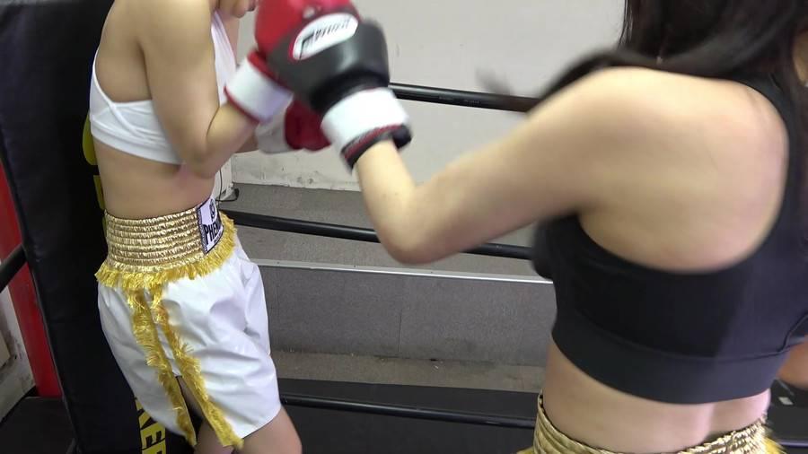 悶絶ボクシング001 真木今日子vs浅倉真凛 サンプル画像05