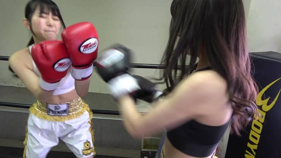悶絶ボクシング001 真木今日子vs浅倉真凛 サンプル画像06