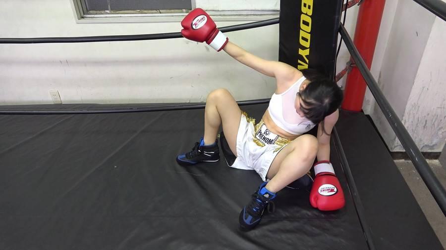 悶絶ボクシング001 真木今日子vs浅倉真凛 サンプル画像07
