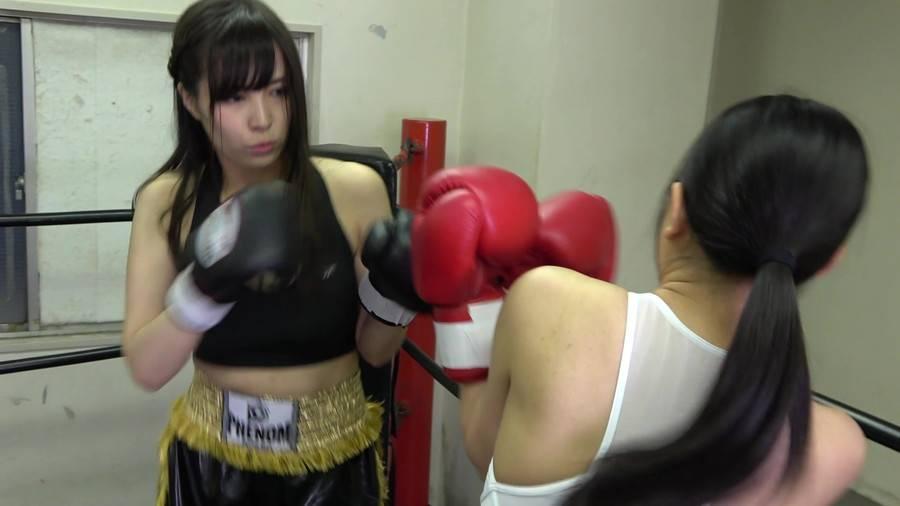 悶絶ボクシング001 真木今日子vs浅倉真凛 サンプル画像09