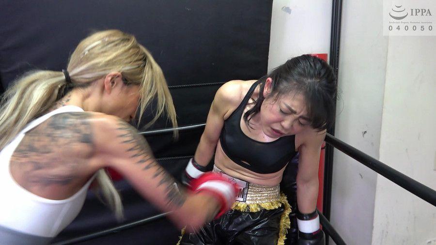 悶絶キックボクシング004 神崎まゆみvs鮫島るい サンプル画像06