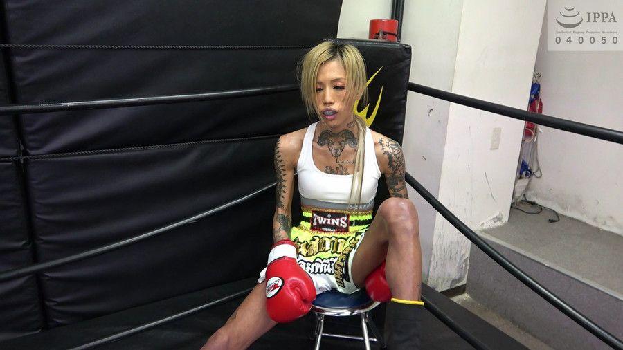 悶絶キックボクシング004 神崎まゆみvs鮫島るい サンプル画像10