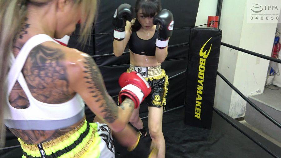 悶絶キックボクシング004 神崎まゆみvs鮫島るい サンプル画像11