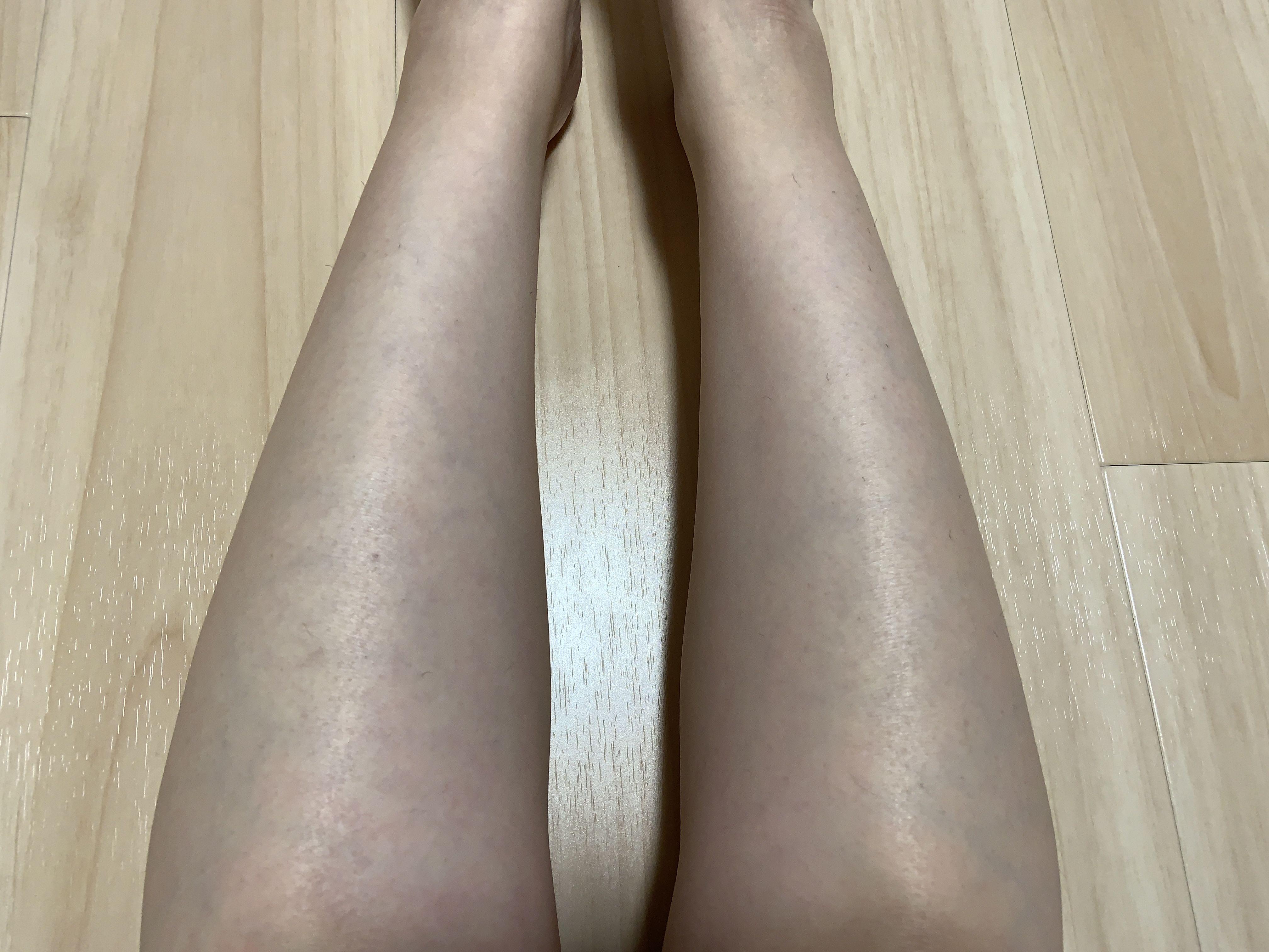 普通の女の子のスネ毛抜き-スマホ自撮り◎あんな(26歳)OL サンプル画像03