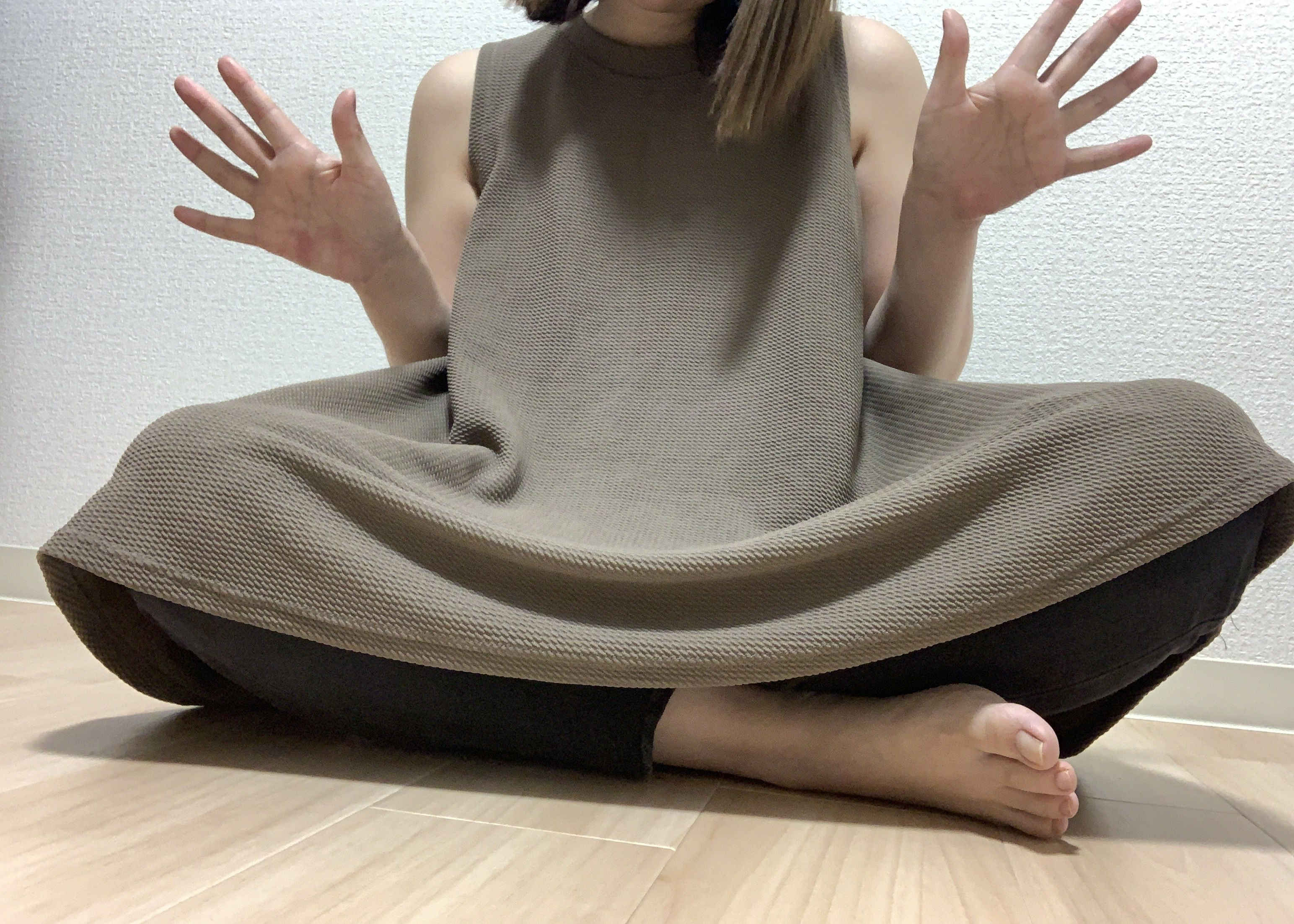 普通の女の子の脇毛抜き-スマホ自撮り◎あんな(26歳)OL サンプル画像01
