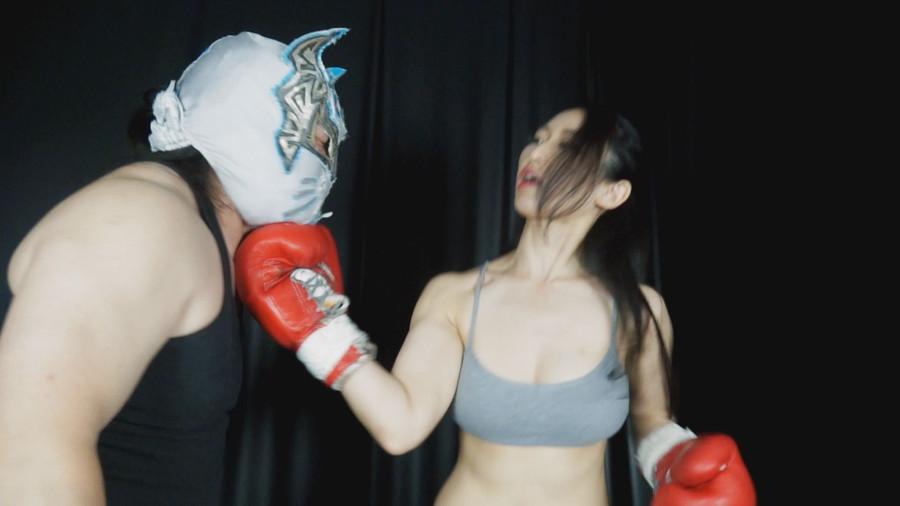 【HD】格闘男虐め グローブで殴られたい男03【プレミアム会員限定】 サンプル画像05