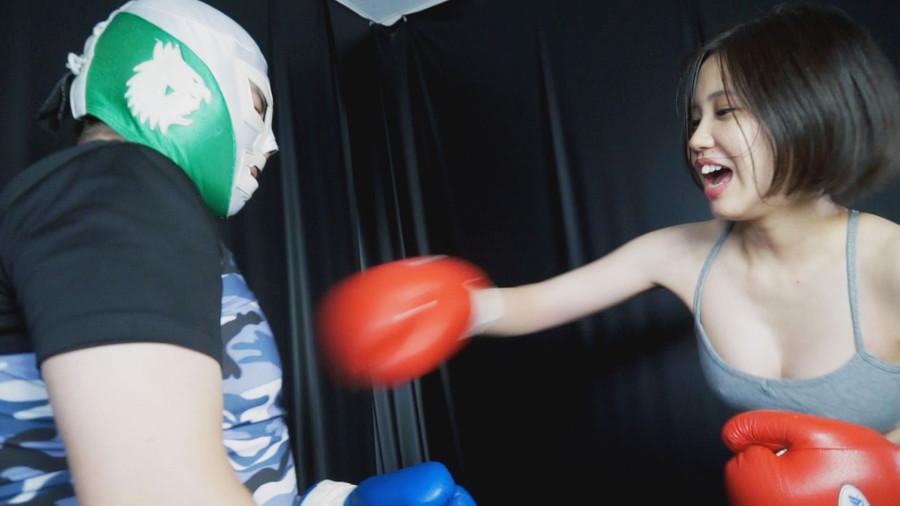 【HD】格闘男虐め グローブで殴られたい男03【プレミアム会員限定】 サンプル画像06