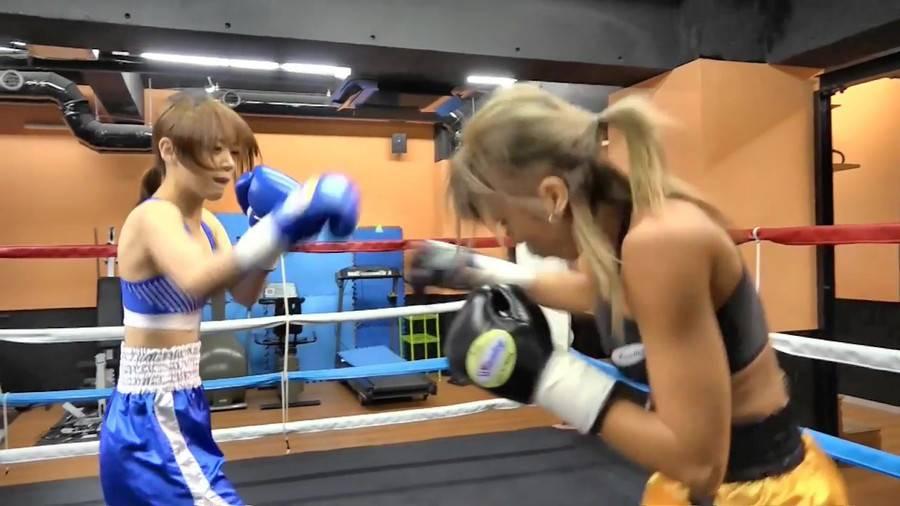 【HD】KO Angels 彩良VS優 サンプル画像05