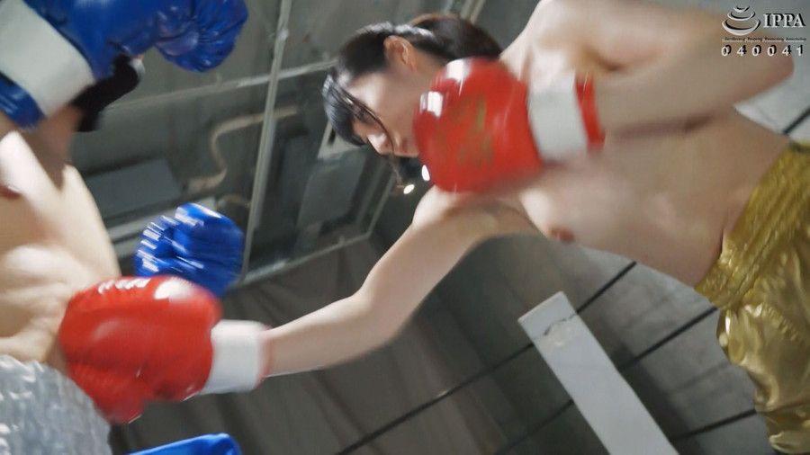 【HD】NEW格闘フェチ男女ボクシング対決 1【プレミアム会員限定】 サンプル画像02