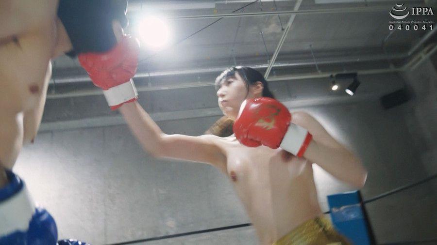 【HD】NEW格闘フェチ男女ボクシング対決 1【プレミアム会員限定】 サンプル画像03
