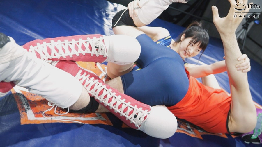 【HD】NEW格闘フェチ男女プロレス対決 1【プレミアム会員限定】 サンプル画像03