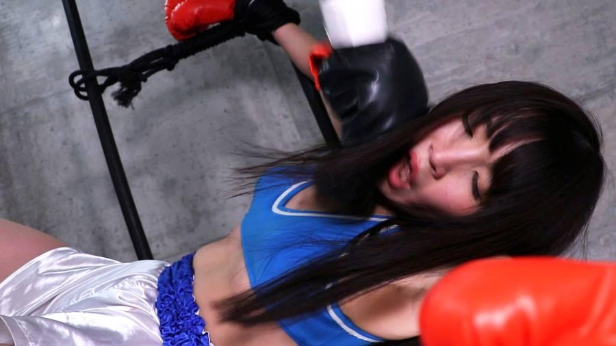 【HD】格闘女虐め 人間サンドバッグ編1 サンプル画像01