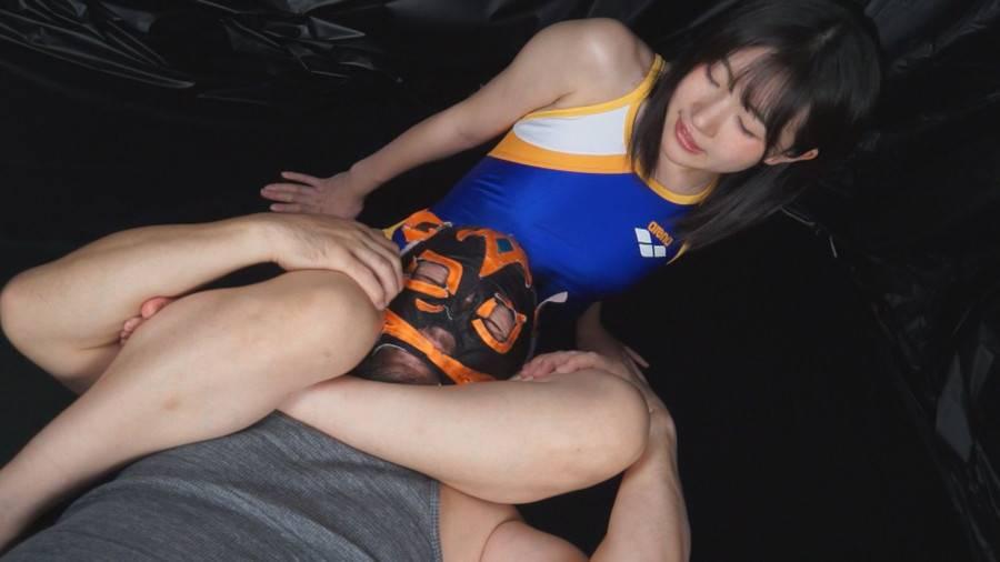 【HD】格闘男虐め 太股締め技編2 サンプル画像08