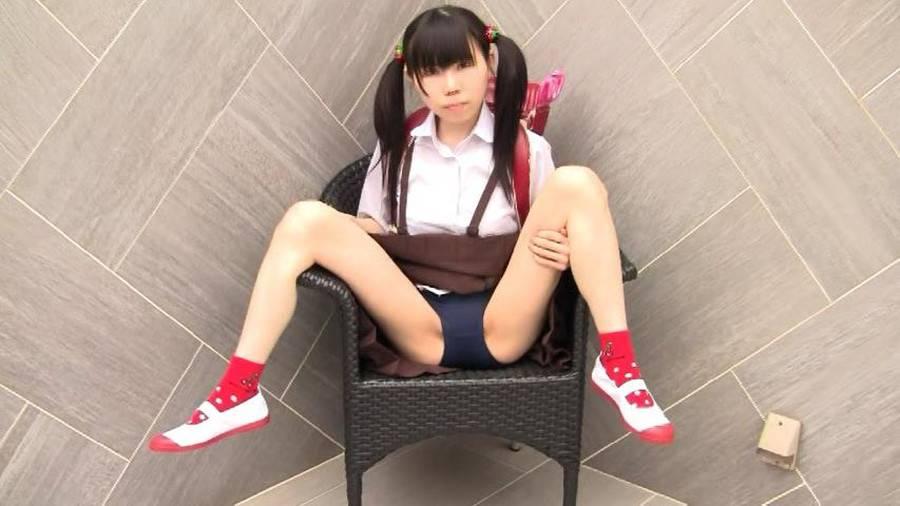 【HD】ちおりちゃんのブルマー&ロリパン&スク水 サンプル画像04