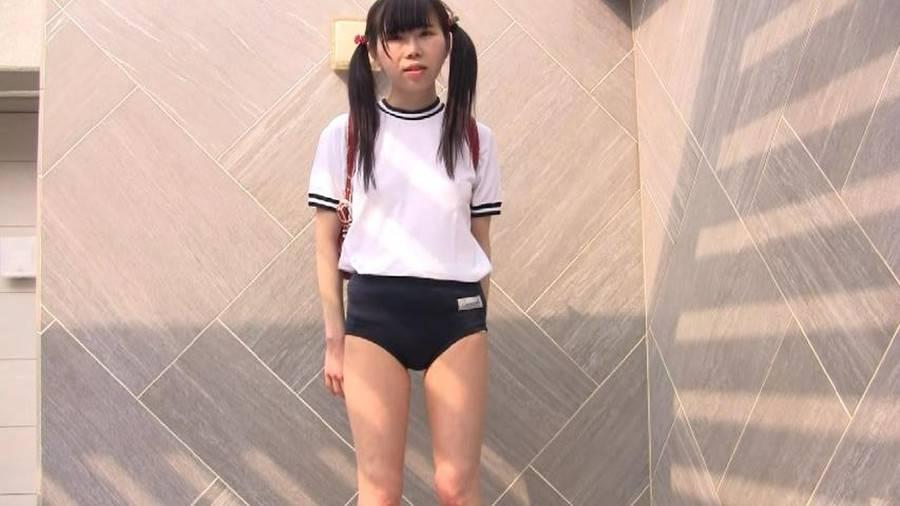 【HD】ちおりちゃんのブルマー&ロリパン&スク水 サンプル画像09