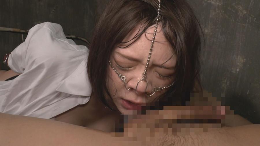 喉責め鼻フック サンプル画像04