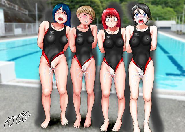 競泳水着集団凌辱・穢されたメドレーリレー サンプル画像01