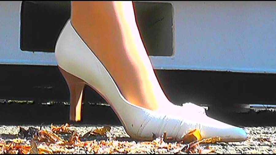 黒髪女性が生ストッキングで巨大ゴキブリを踏み潰す!-後編- サンプル画像01