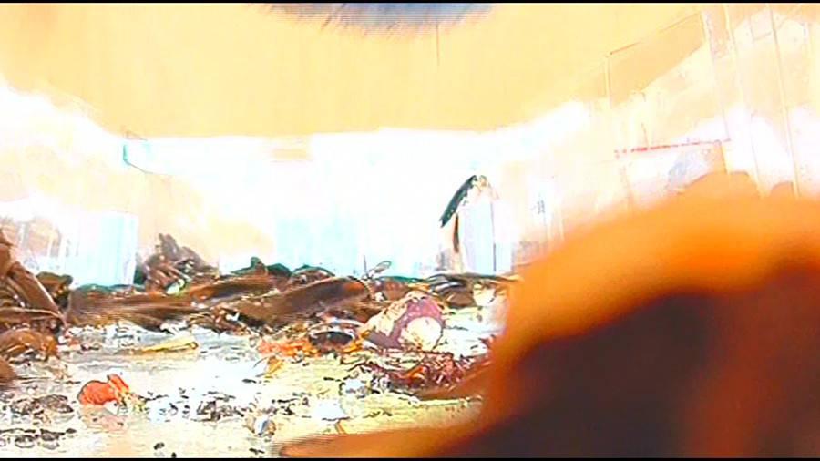 25cmパンプスの瑠伊様が巨大ゴキブリの大群をグチャグチャと踏み潰す!!-中編- サンプル画像05