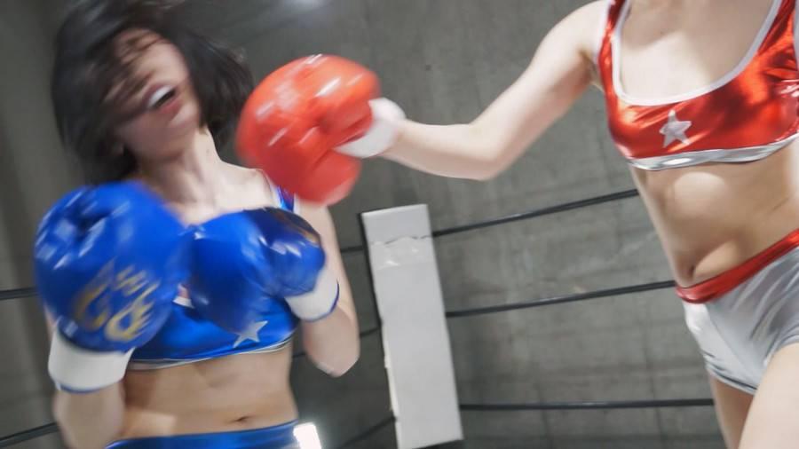 【HD】妄想女子ボクシング改 Vol.03【プレミアム会員限定】 サンプル画像04