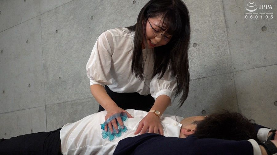 【HD】くすぐり女子 堅物大学教授 拘束強制くすぐり責め サンプル画像03
