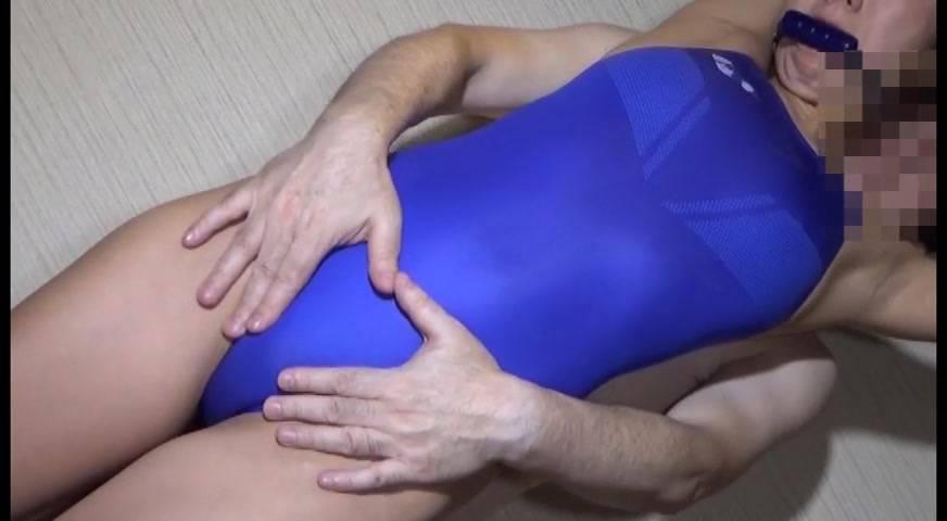 現役女子アスリート ハイカット競泳水着着せ替え凌辱堕とし サンプル画像03
